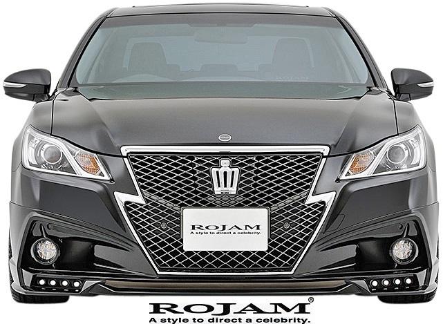 【M's】トヨタ クラウン 210系 (2012/12-2015/9) ROJAM IRT フルエアロ 3点キット 前後LED.Ver (F+S+R)//GRS21 FRP ロジャム エアロ_画像7