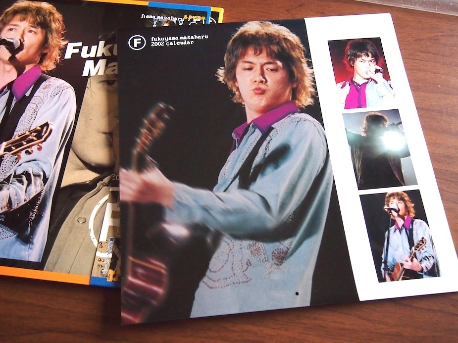 ★福山雅治 2002 LP カレンダー_画像2