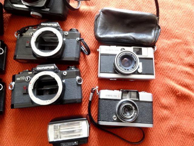 ジャンク!オリンパス カメラ・レンズ・カバー等セットで!・OM-1・OM-2・OM10・XA・XA2・OLYMPUS-PEN EED_画像4