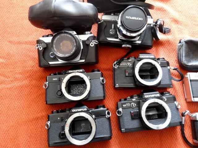 ジャンク!オリンパス カメラ・レンズ・カバー等セットで!・OM-1・OM-2・OM10・XA・XA2・OLYMPUS-PEN EED_画像2