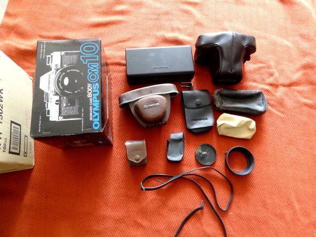 ジャンク!オリンパス カメラ・レンズ・カバー等セットで!・OM-1・OM-2・OM10・XA・XA2・OLYMPUS-PEN EED_画像5