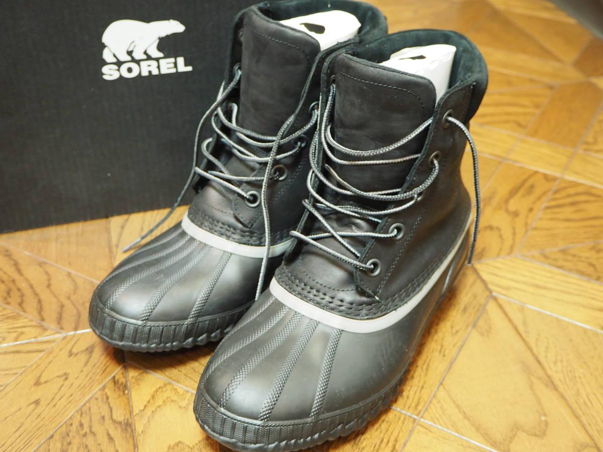 ソレル SOREL SHEYANNEⅡ ブラック 27.5cm