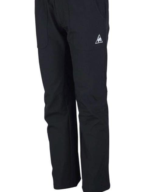 ルコック le coq sportif ウインタートレーニングパンツ QB-481153ウインドブレーカー ロングパンツ ゴルフ テニス 防寒 ブラック サイズL_画像9