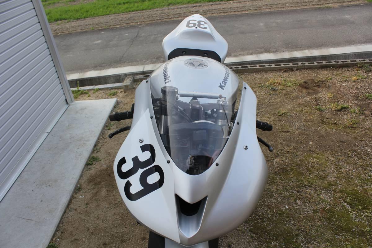 '07年式ZX-6R ST600 サーキット レース仕様 レーサー オーリンズ/ブレンボ 岡山市より_画像7