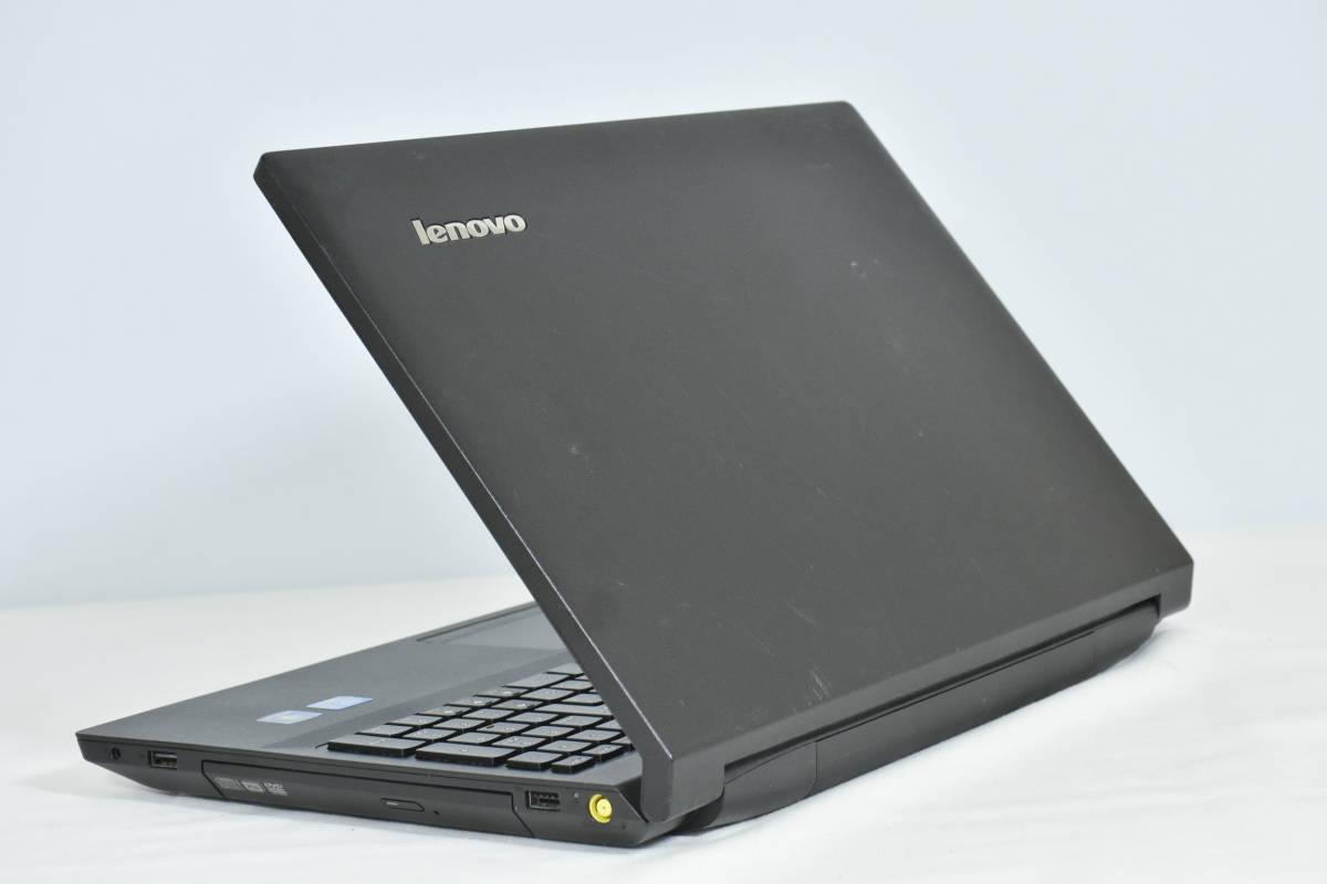 高速SSD256GB Office付 高速第三世代Corei5 3320M 2.6GHZ 最新Windows10 64bit済 Lenovo 中古ノートパソコン B590 メモリ8GB DVDRW WIFI_画像2