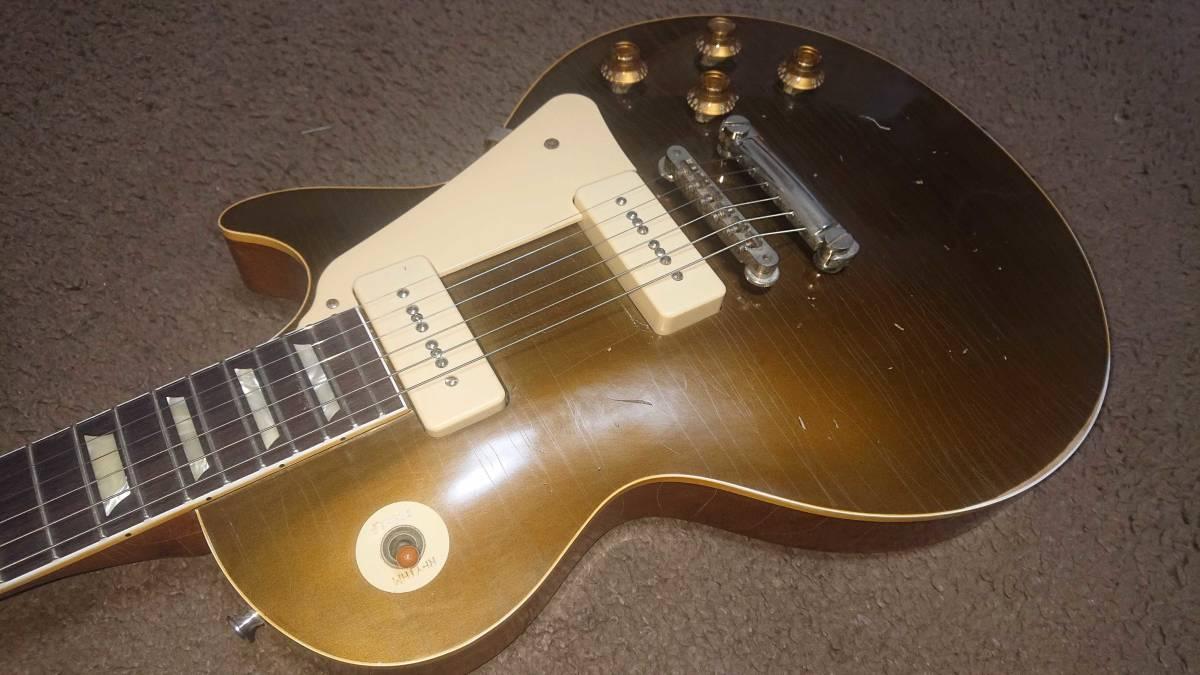 極薄オールラッカーヘヴィエイジド 国産ヴィンテージ 1979年製 Tokai Les Paul Reborn リ