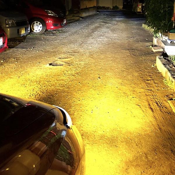 トヨタ◆保証 濃い黄色/イエロー フォグランプ 3000k LED HB4 9006◆ポルテ H19.6~H24.5 NNP1#系 専用_画像4