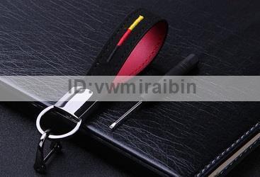 BMW クロム レザー ベルト キー チェーン F01F06F10F11F20F22F30F31F32F34F36E84F25F15F16E90E91E92E93E87E60E61M3M5M6X1X3X4X5X6 ドイツ_画像1