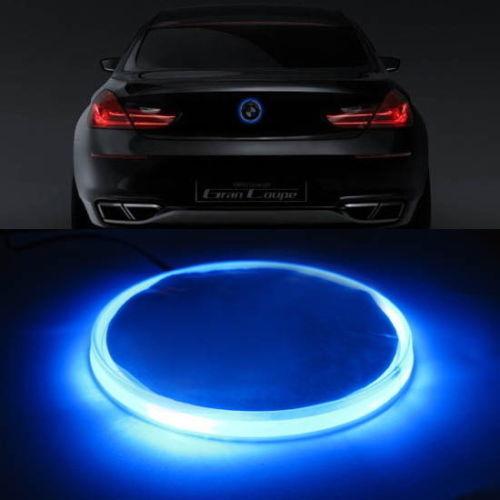 BMW 82mm エンブレム LED 加工 夜光 Mスポーツ 10F11E60E61E39E34E28E12F82E90E92E93E46E36E30E87E82M3M4 フロント リア  青 ブルー_画像1