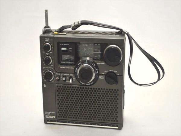 KM31●ジャンク●SONY スカイセンサー ICF-5900 5バンドマルチバンドレシーバー/BCLラジオ FM/MW/SW1/SW2/SW3