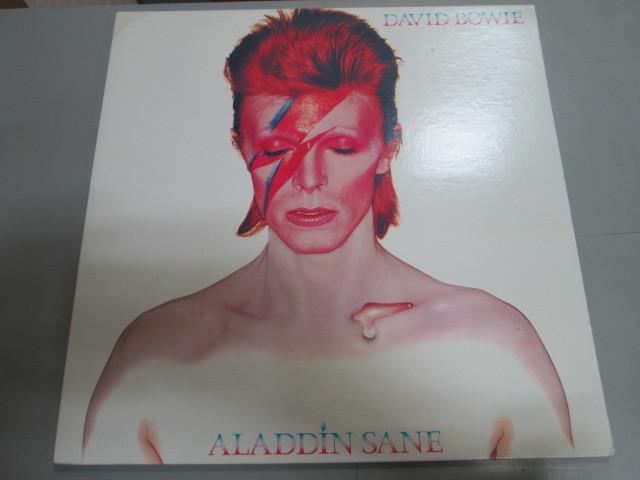 希少!DAVID BOWIE ALADDIN SANE LP 限定RYKO盤 クリア・レコード デヴィッドボウイ アラジンセイン_画像1