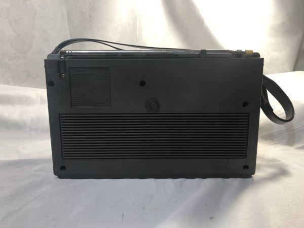 希少 BCLラジオ SONY ソニー ICF-6500 マルチバンドレシーバー / FM/MW/SW1/SW2/SW3 / 昭和 レトロ 部品取り ジャンク_画像7