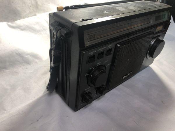 希少 BCLラジオ SONY ソニー ICF-6500 マルチバンドレシーバー / FM/MW/SW1/SW2/SW3 / 昭和 レトロ 部品取り ジャンク_画像5