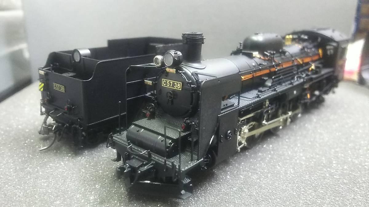 HO 天賞堂 C57 38号機 岩見沢時代 (晩年) No11064