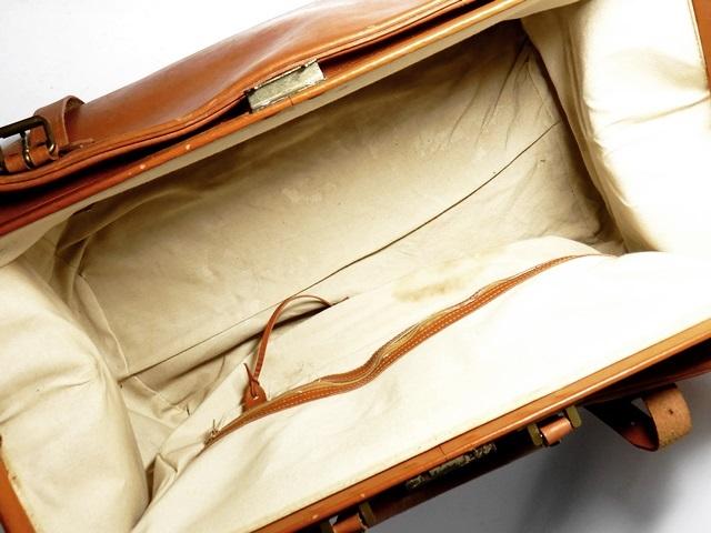 即決★PORTER★超希少 オールレザードクターバッグ ポーター メンズ ブラウン 本革 トラベル 本皮 かばん 出張カバン 鍵付き ダレス 旅行鞄_画像7