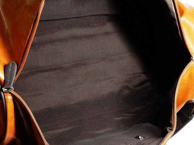 即決★GIORGIO VALENTI★ボストンバッグ ジョルジオバレンティ メンズ 茶 ブラウン トラベル ショルダーバッグ 旅行かばん 出張カバン 2way_画像8