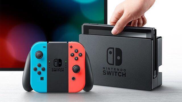 【送料無料】Nintendo Switch 本体 (ニンテンドースイッチ) 【Joy-Con (L) ネオンブルー/ (R) ネオンレッド】