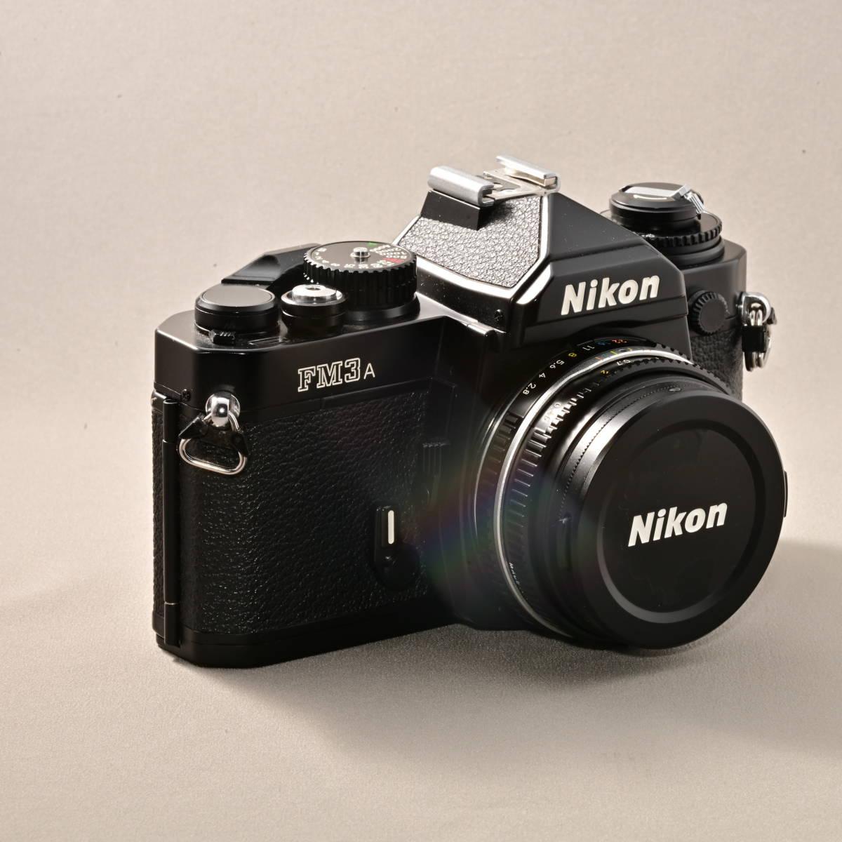 ニコン NIKON FM3A + NIKKOR 45mm F2.8P_画像5