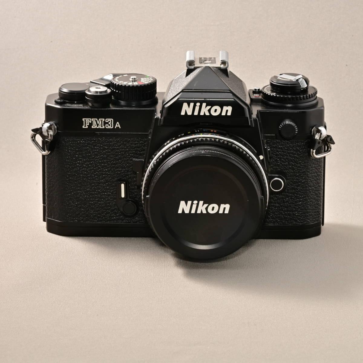 ニコン NIKON FM3A + NIKKOR 45mm F2.8P