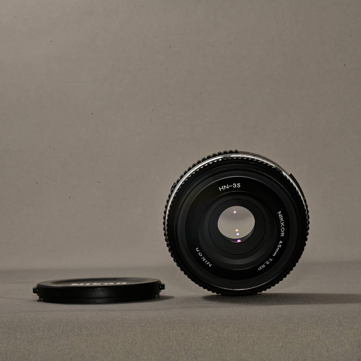 ニコン NIKON FM3A + NIKKOR 45mm F2.8P_画像8