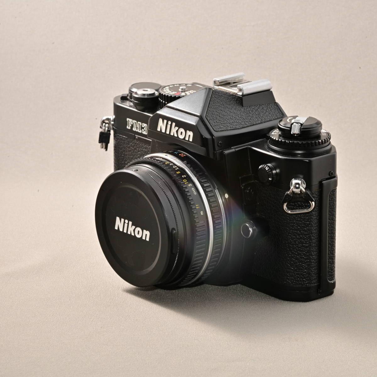 ニコン NIKON FM3A + NIKKOR 45mm F2.8P_画像4