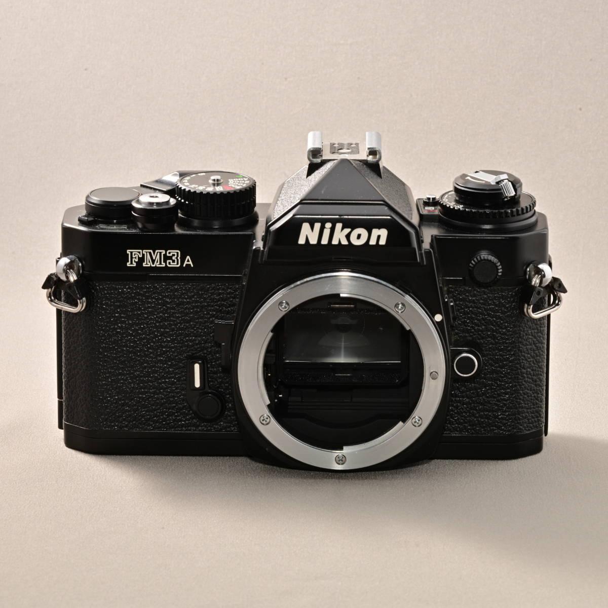 ニコン NIKON FM3A + NIKKOR 45mm F2.8P_画像6
