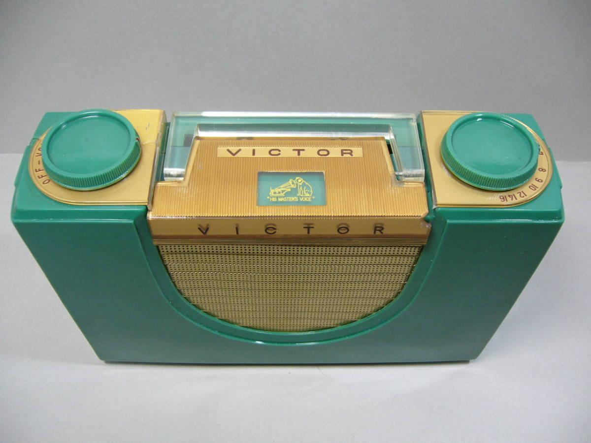 ビクター 真空管 ポータブルラジオ PR-1 整備済_画像2