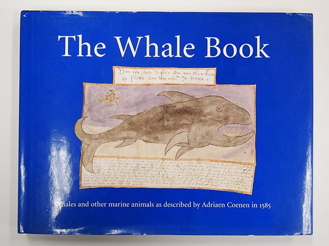 【洋書】THE WHALE BOOK【アドリアーン・クーネン】ADRIAEN COENEN クジラ 魚 図鑑 海洋野生生物 THE FISH BOOK 水彩画