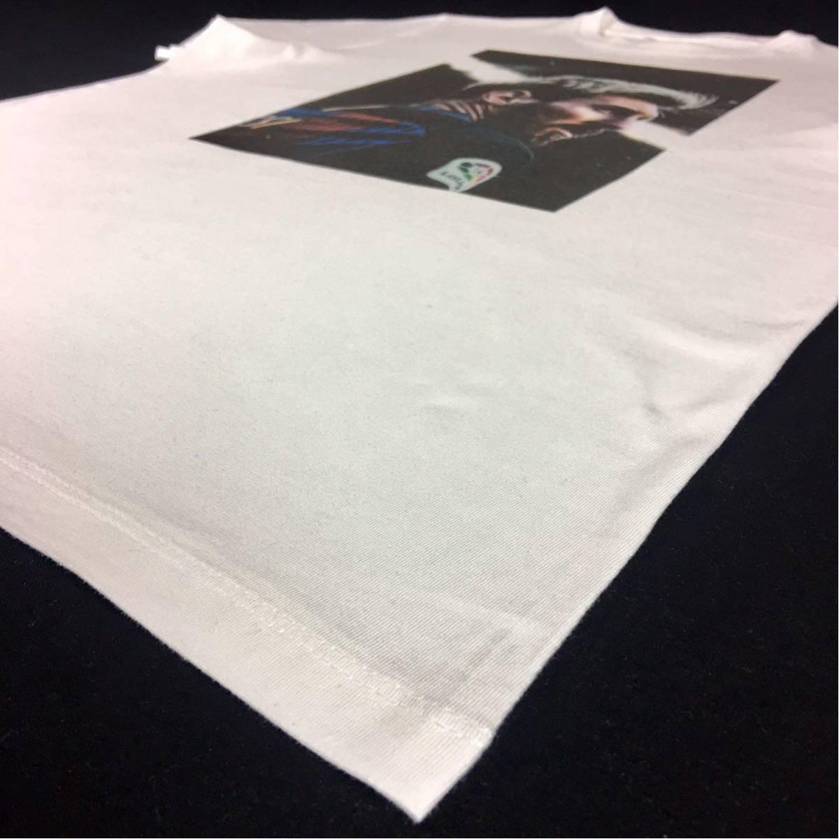 新品 サッカー メッシ Tシャツ S M L XL ワールドカップ バルセロナ アルゼンチン ロナウド ビッグ オーバー サイズ XXL~5XL 長袖 黒 対応_画像9