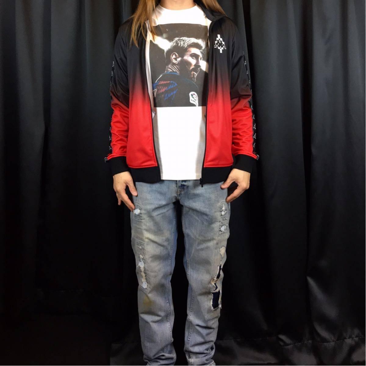 新品 サッカー メッシ Tシャツ S M L XL ワールドカップ バルセロナ アルゼンチン ロナウド ビッグ オーバー サイズ XXL~5XL 長袖 黒 対応_画像5