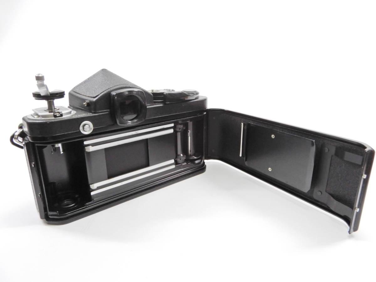 Nikon ニコン F2 ブラック NIKKOR 50mm 1:1.4 一眼レフ カメラ レンズ 付き シャッター確認済_画像4
