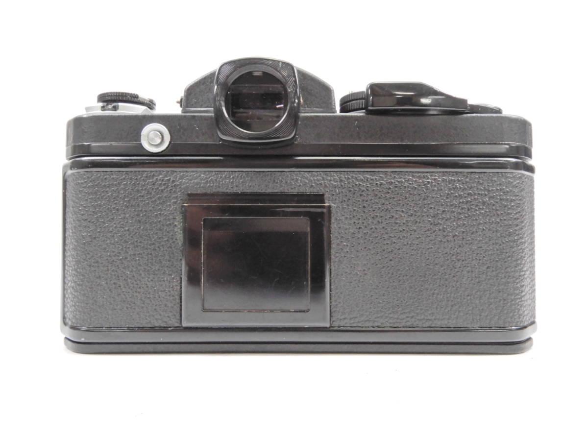 Nikon ニコン F2 ブラック NIKKOR 50mm 1:1.4 一眼レフ カメラ レンズ 付き シャッター確認済_画像3