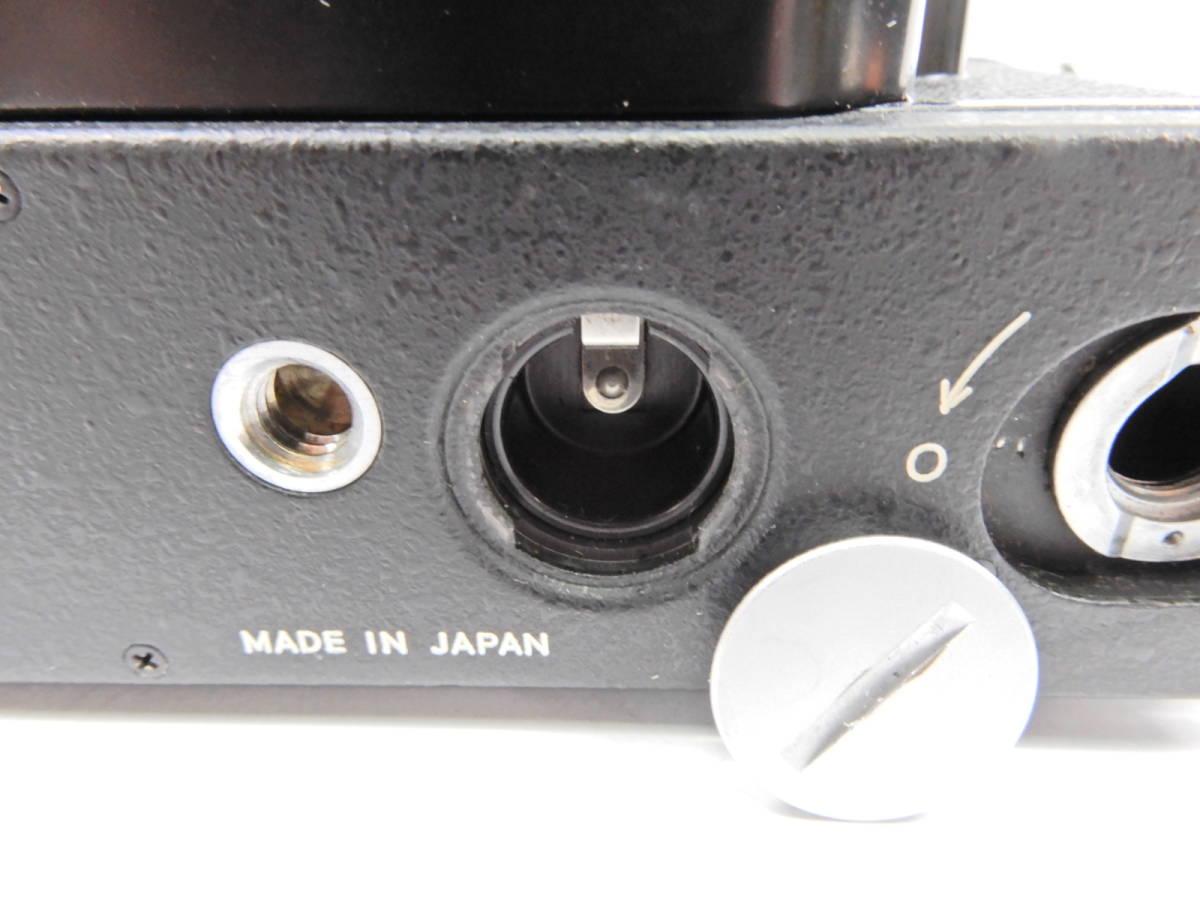 Nikon ニコン F2 ブラック NIKKOR 50mm 1:1.4 一眼レフ カメラ レンズ 付き シャッター確認済_画像6