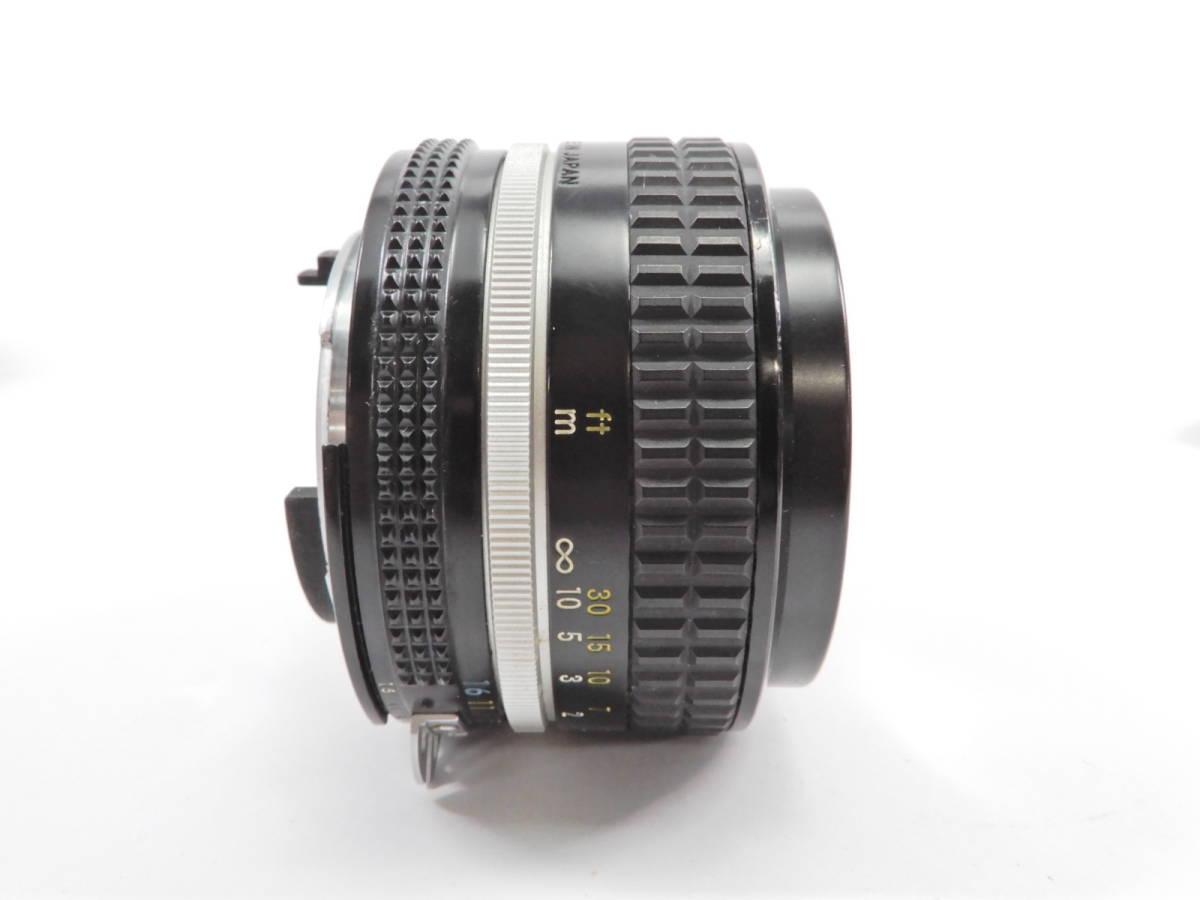 Nikon ニコン F2 ブラック NIKKOR 50mm 1:1.4 一眼レフ カメラ レンズ 付き シャッター確認済_画像10