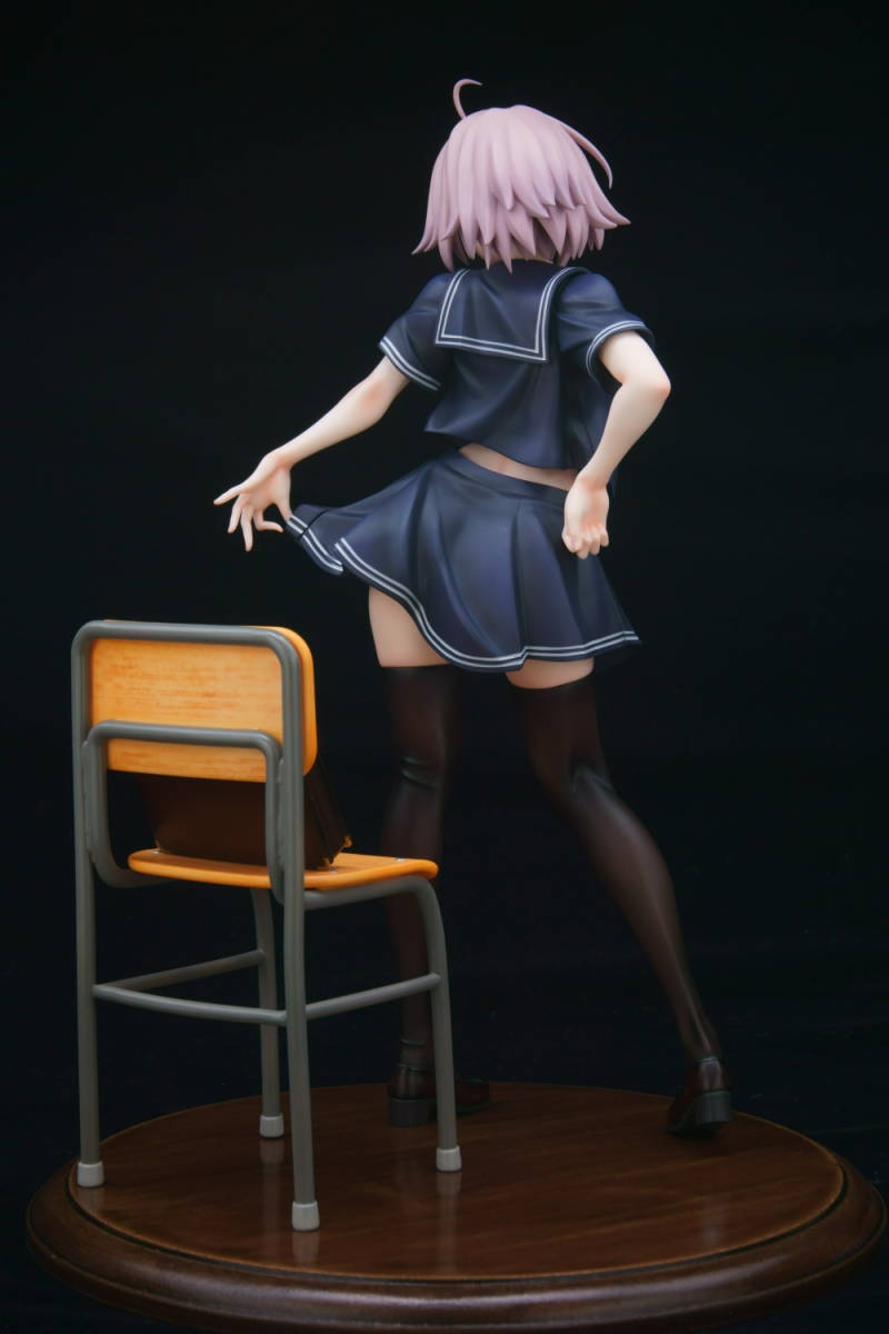 Fate/Grand Order グリズリーパンダ ジャンヌ・オルタ 制服ver. ガレージキット 塗装済み 完成品 ワンフェス トレフェス 正規品_画像4