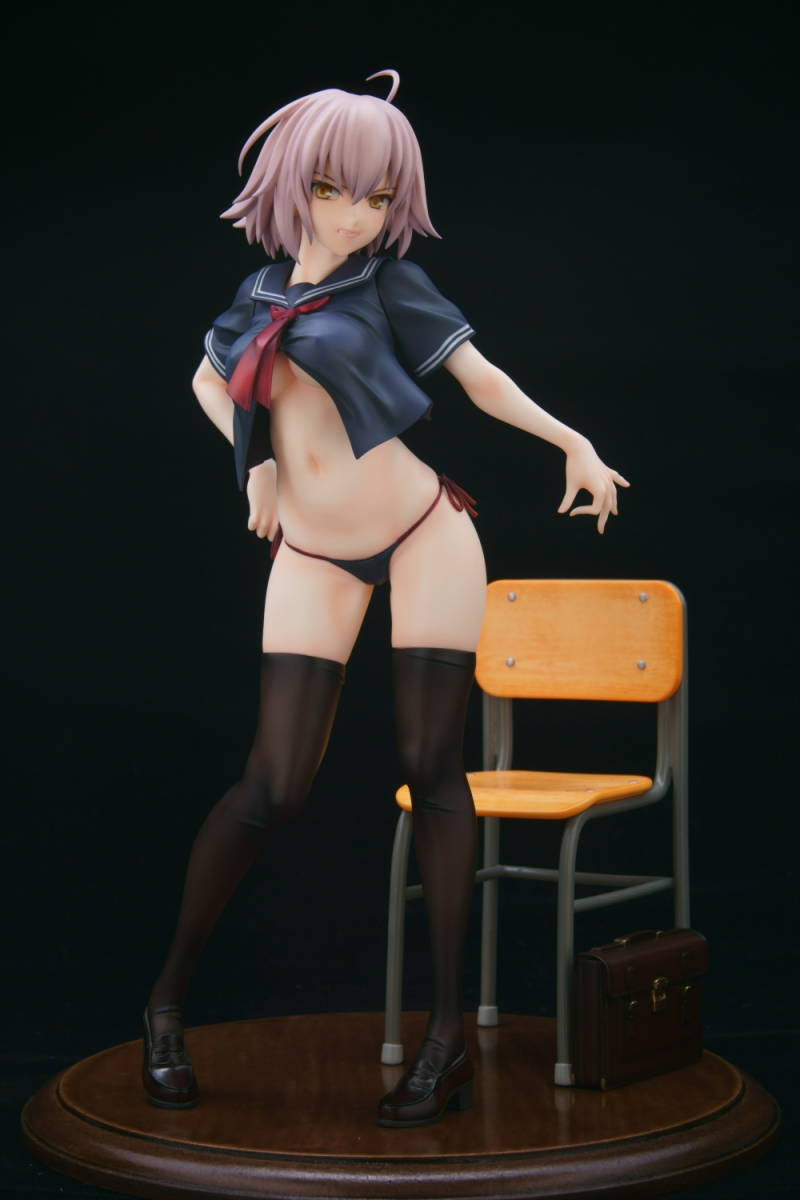 Fate/Grand Order グリズリーパンダ ジャンヌ・オルタ 制服ver. ガレージキット 塗装済み 完成品 ワンフェス トレフェス 正規品_画像6