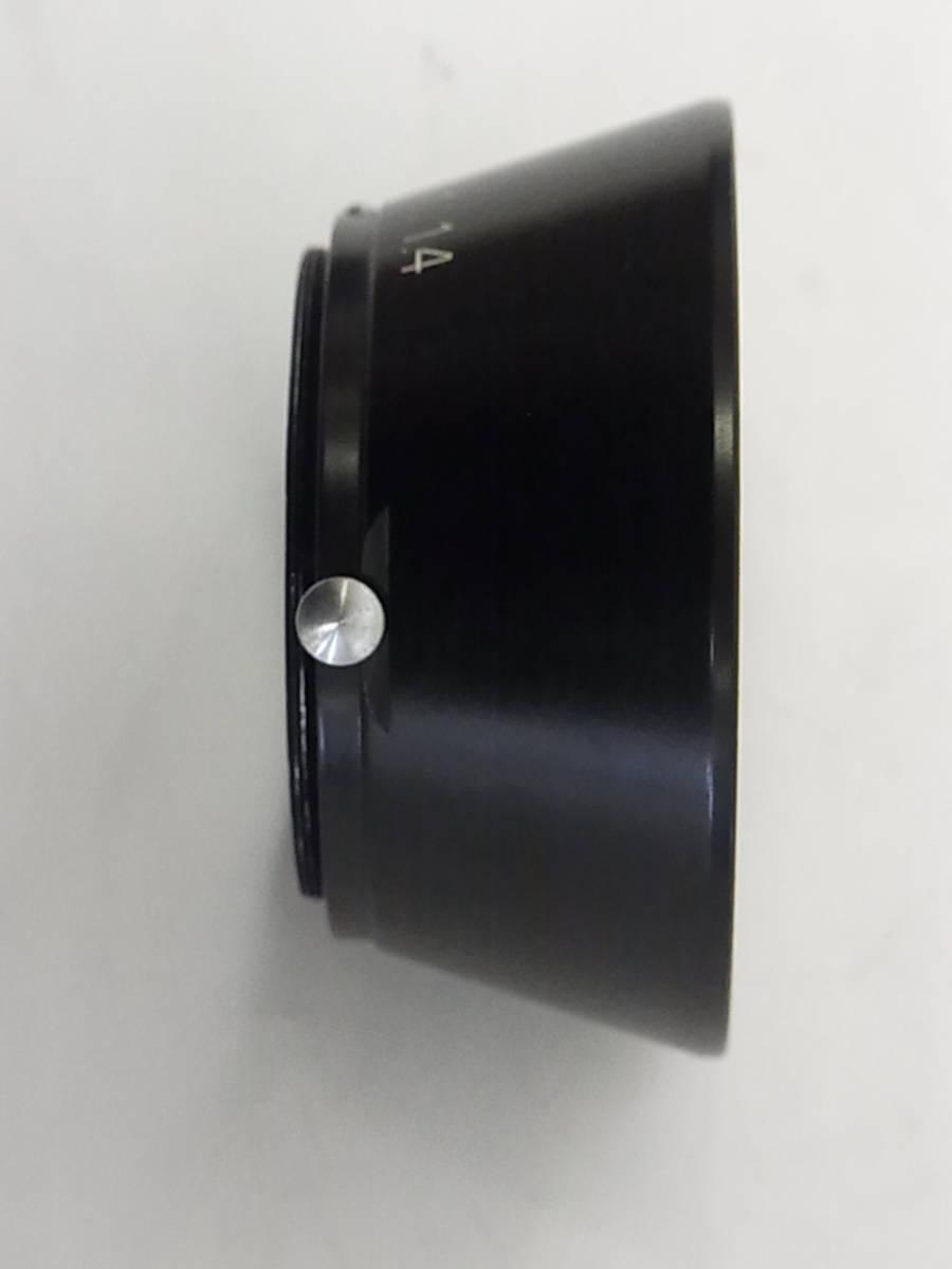 希少 ニコン Nikon レンジファインダー Nikon 1:1.4 刻印 S型 5cm F1.4 50㎜ F1.4 用 43㎜径 フード JAPAN NIKON_画像5