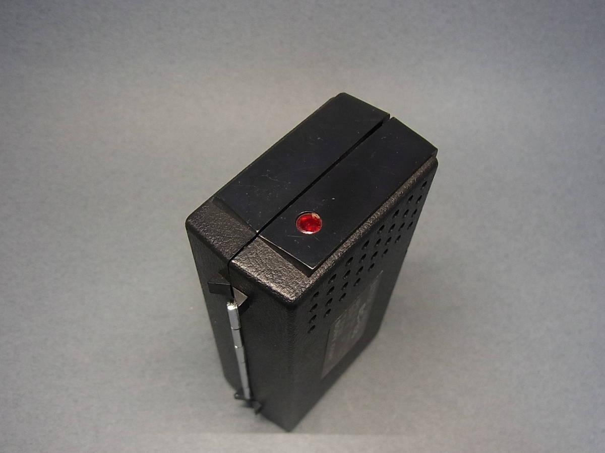 ◆聚◆ 昭和レトロ ビンテージ SONY ソニーICラジオ・ICR-100 超小型トランジスターラジオ BC-100付属 ジャンク品_画像10