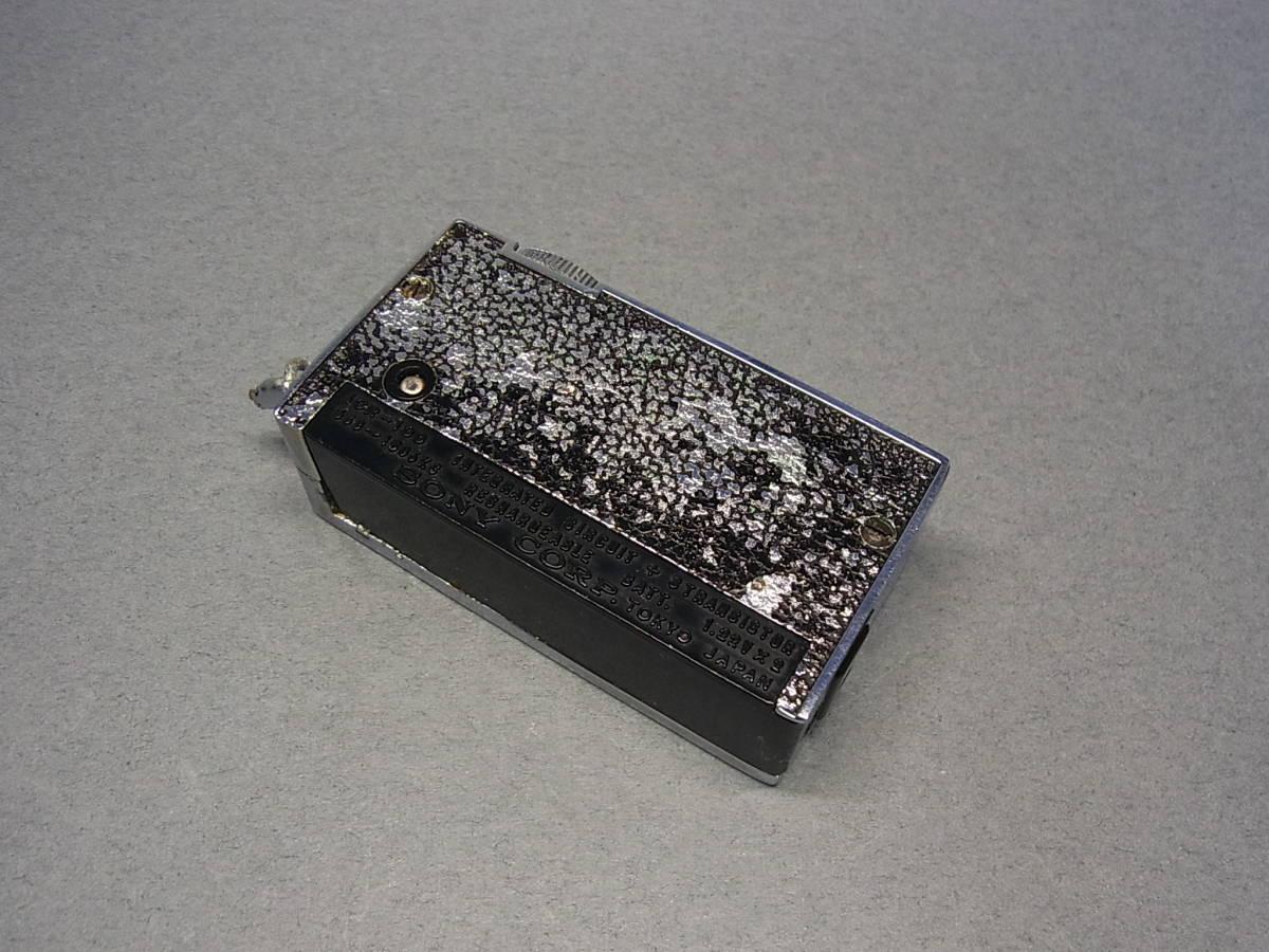 ◆聚◆ 昭和レトロ ビンテージ SONY ソニーICラジオ・ICR-100 超小型トランジスターラジオ BC-100付属 ジャンク品_画像6