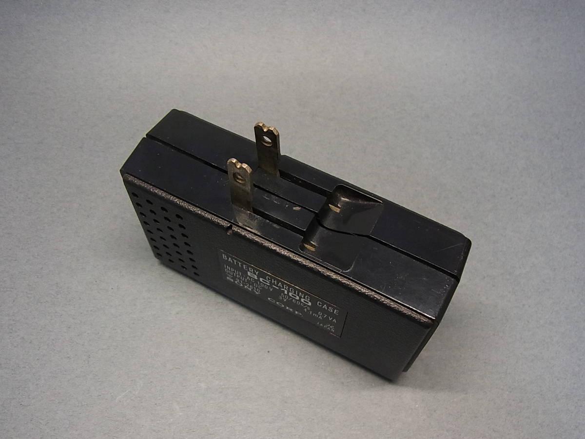 ◆聚◆ 昭和レトロ ビンテージ SONY ソニーICラジオ・ICR-100 超小型トランジスターラジオ BC-100付属 ジャンク品_画像9