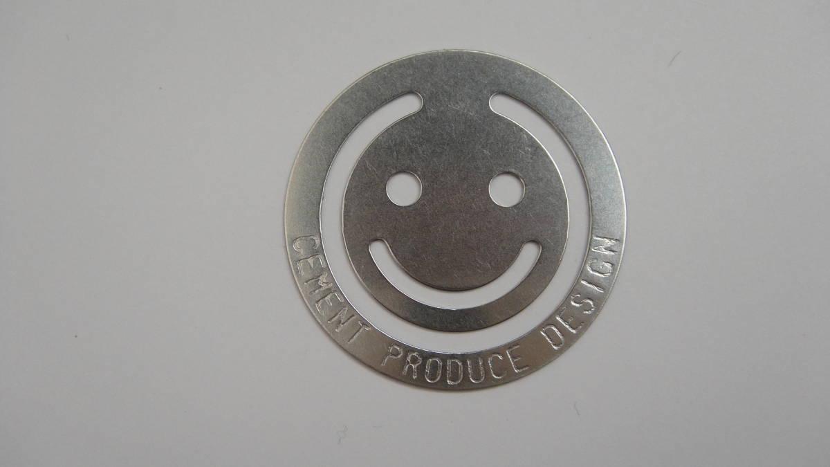 CEMENT PRODUCE DESIGN セメントプロデュースデザイン ハッピーフェイスクリップ 新品 送料無料 (事務 おしゃれ 癒し)