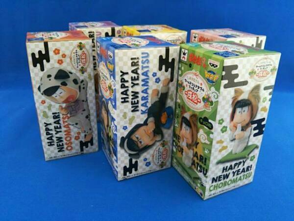 おそ松さん ワールドコレクタブルフィギュア -戌松- 全6種セット_画像2