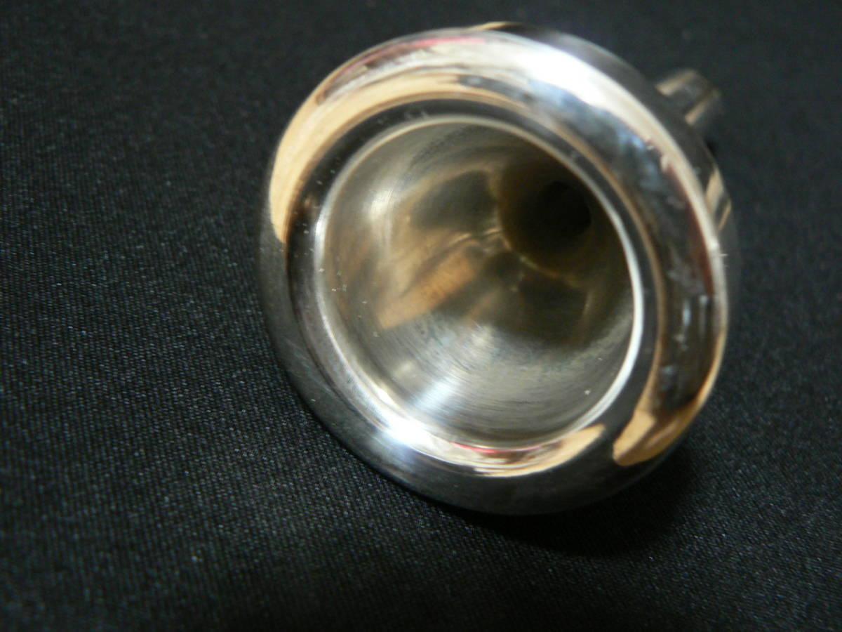 トロンボーン用 太管マウスピース ◆未使用_画像2