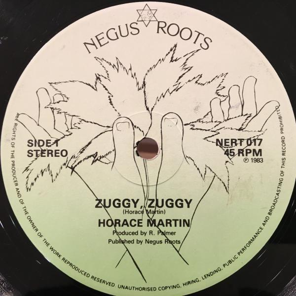 ★Horace Martin/Zuggy Zuggy★KILLER ROOTS!!_画像1