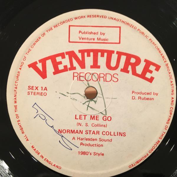 ★Norman Star Collins/Let Me Go★正統派LOVERS ROCK!_画像1