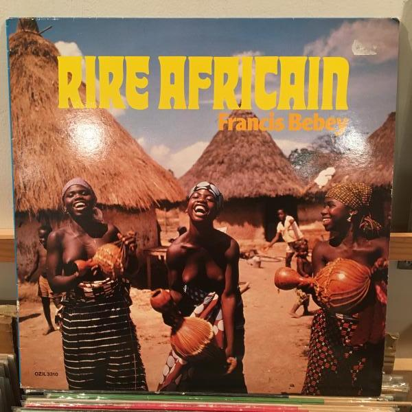 ☆Francis Bebey/Rire Africain☆カメルーン産AFRO ELECTRONICS!_画像1