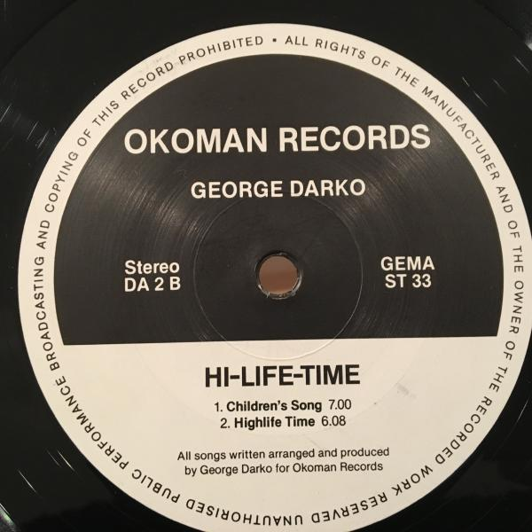 ☆George Darko/Hi-life Time☆ガーナ産AFRO SYNTH BOOGIE!_画像2