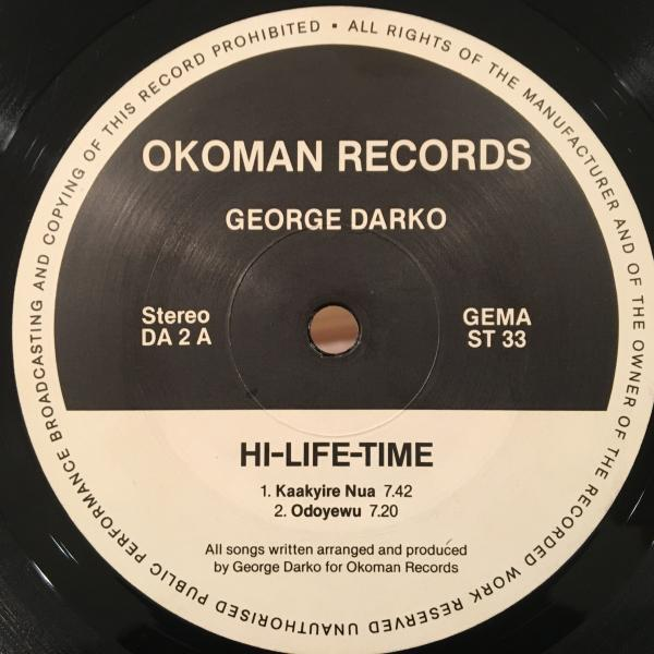 ☆George Darko/Hi-life Time☆ガーナ産AFRO SYNTH BOOGIE!_画像3