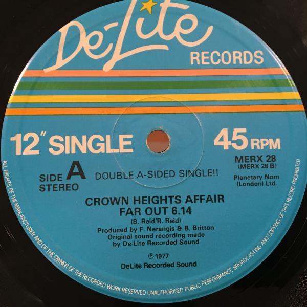 ☆Crown Heights Affair/Far Out☆DJ HARVEY CLASSIC!UKのみ12!_画像2
