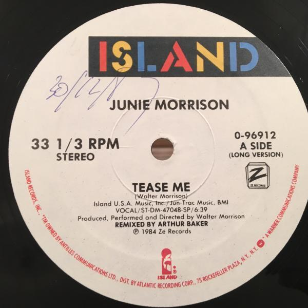 ☆Junie Morrison/Tease Me☆KILLER SYNTH BOOGIE!_画像1